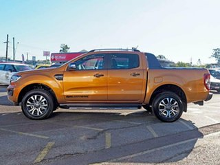 2018 Ford Ranger PX MkIII 2019.00MY Wildtrak Pick-up Double Cab Saber 10 Speed Sports Automatic