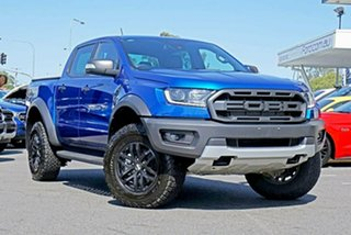 2019 Ford Ranger PX MkIII 2019.00MY Raptor Pick-up Double Cab Blue 10 Speed Sports Automatic Utility.