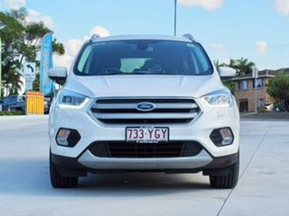 2017 Ford Escape ZG 2018.00MY Titanium PwrShift AWD White Platinum 6 Speed.