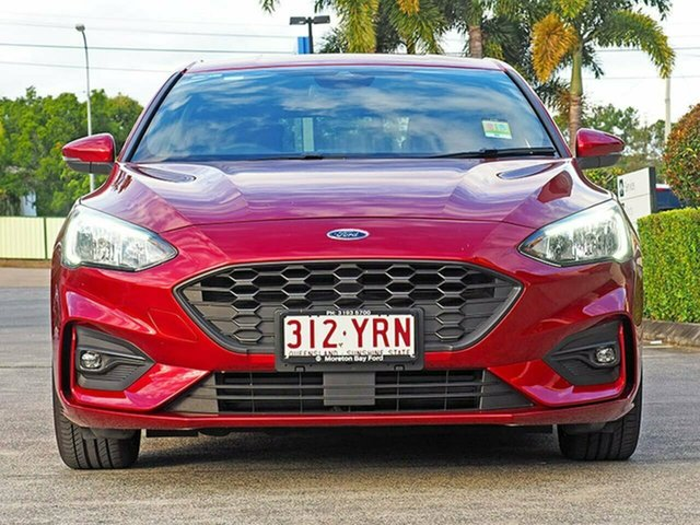 Used Ford Focus SA 2019MY ST-Line, 2018 Ford Focus SA 2019MY ST-Line Ruby Red 8 Speed Automatic Hatchback