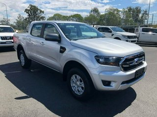 2018 Ford Ranger PX MkIII 2019.00MY XLS Pick-up Double Cab Silver 6 Speed Sports Automatic Utility.