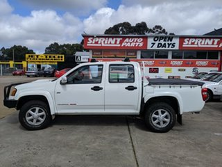 2010 Holden Colorado RC MY10 LT-R Crew Cab White 5 Speed Manual Utility