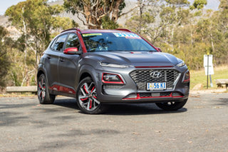 2019 Hyundai Kona OS.2 MY19 Iron Man Edition D-CT AWD Tone 7 Speed Sports Automatic Dual Clutch.