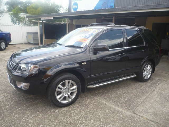 Used Ford Territory SY MkII TS RWD Limited Edition, 2011 Ford Territory SY MkII TS RWD Limited Edition Black 4 Speed Sports Automatic Wagon