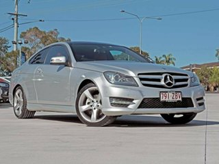 2014 Mercedes-Benz C-Class C204 MY14 C250 7G-Tronic + Iridium Silver 7 Speed Sports Automatic Coupe.