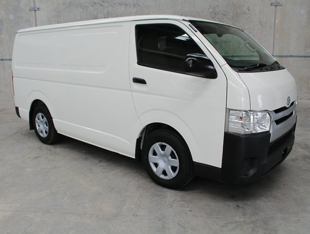 Used Toyota HiAce KDH201R MY14 LWB, 2015 Toyota HiAce KDH201R MY14 LWB White Manual Van