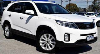 2013 Kia Sorento XM MY13 SLi White 6 Speed Sports Automatic Wagon.