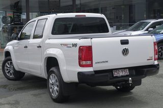 2018 Volkswagen Amarok 2H MY19 TDI550 4MOTION Perm Core Candy White 8 Speed Automatic Utility.