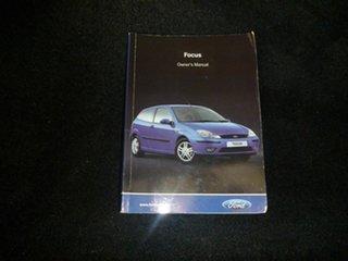 2004 Ford Focus LR MY2003 LX White 5 Speed Manual Sedan.