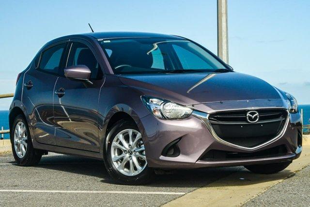 Used Mazda 2  Maxx, 2015 Mazda 2 DJ Series Maxx Purple 6 Speed Sports Automatic Hatchback
