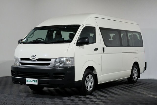Used Toyota HiAce KDH223R MY08 Commuter High Roof Super LWB, 2008 Toyota HiAce KDH223R MY08 Commuter High Roof Super LWB French Vanilla 5 Speed Manual Bus