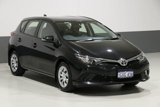 2017 Toyota Corolla ZRE182R MY17 Ascent Black 7 Speed CVT Auto Sequential Hatchback