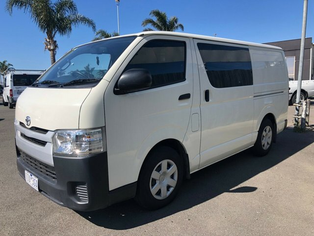 Used Toyota HiAce  , 2016 Toyota HiAce AUTO 3.0TDi LWB from $99p/week 4 Speed Automatic Van