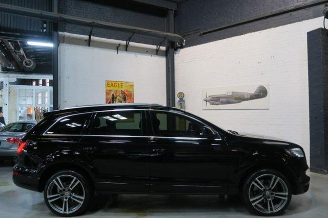 Used Audi Q7 MY13 TDI Tiptronic Quattro, 2012 Audi Q7 MY13 TDI Tiptronic Quattro Black 8 Speed Sports Automatic Wagon