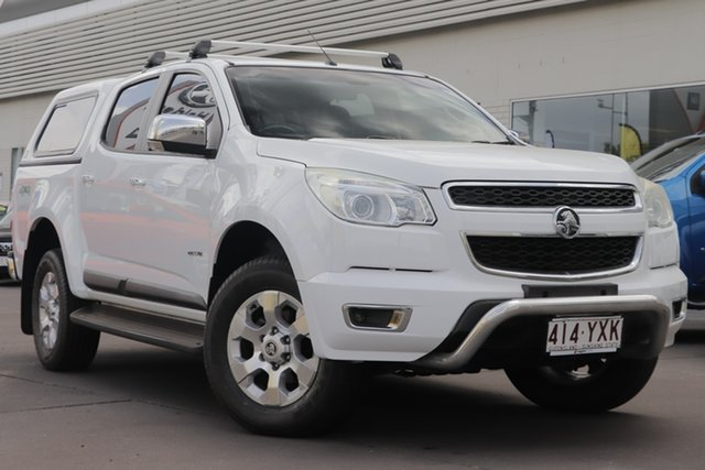 Used Holden Colorado RG MY13 LTZ Crew Cab, 2013 Holden Colorado RG MY13 LTZ Crew Cab White 6 Speed Sports Automatic Utility