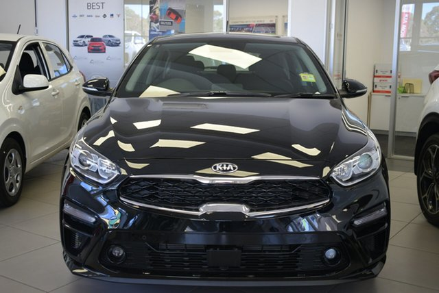 Demo Kia Cerato BD MY19 Sport+, 2018 Kia Cerato BD MY19 Sport+ Gravity Blue 6 Speed Automatic Sedan