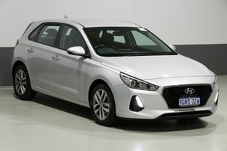 2018 Hyundai i30 PD Active Silver 6 Speed Auto Sequential Hatchback