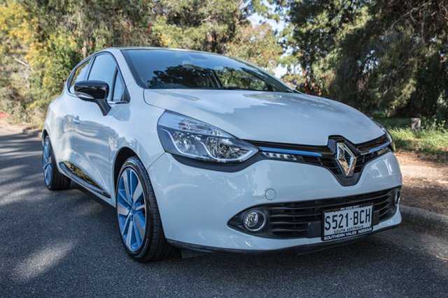Used Renault Clio IV B98 Dynamique EDC, 2013 Renault Clio IV B98 Dynamique EDC White 6 Speed Sports Automatic Dual Clutch Hatchback