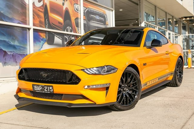 Demo Ford Mustang FN 2018MY GT Fastback, 2018 Ford Mustang FN 2018MY GT Fastback Orange 6 Speed Manual Fastback