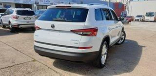2019 Skoda Kodiaq NS MY19 132TSI DSG White 7 Speed Sports Automatic Dual Clutch Wagon