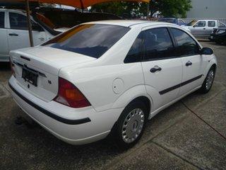 2004 Ford Focus LR MY2003 LX White 5 Speed Manual Sedan