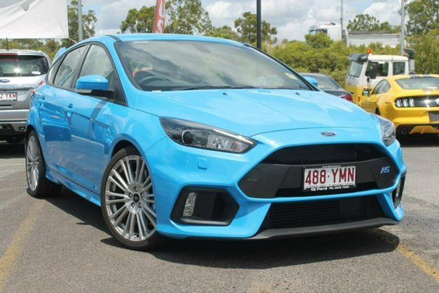 Used Ford Focus LZ RS AWD, 2017 Ford Focus LZ RS AWD Winning Blue 6 Speed Manual Hatchback