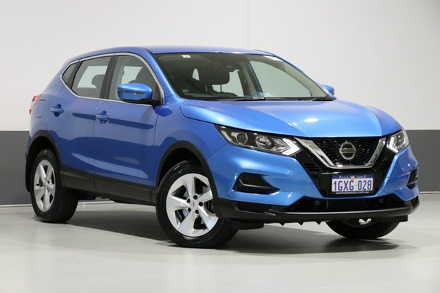 Used Nissan Qashqai J11 MY18 ST, 2018 Nissan Qashqai J11 MY18 ST Blue Continuous Variable Wagon
