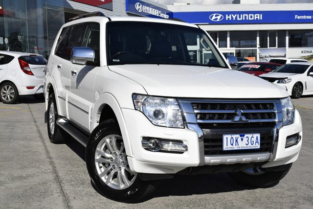 Used Mitsubishi Pajero NX MY18 Exceed, 2018 Mitsubishi Pajero NX MY18 Exceed White 5 Speed Sports Automatic Wagon