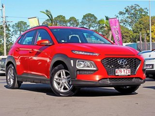 2018 Hyundai Kona OS MY18 Active 2WD Orange 6 Speed Sports Automatic Wagon.