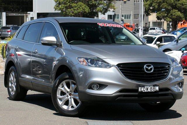 Used Mazda CX-9 TB10A5 Classic Activematic, 2014 Mazda CX-9 TB10A5 Classic Activematic Silver 6 Speed Sports Automatic Wagon