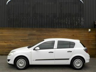 2008 Holden Astra AH MY08 CD White 4 Speed Automatic Hatchback