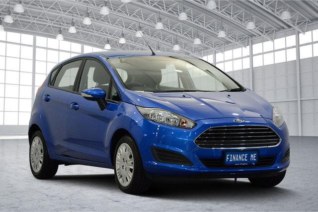 Used Ford Fiesta WZ MY15 Ambiente, 2015 Ford Fiesta WZ MY15 Ambiente Blue 5 Speed Manual Hatchback