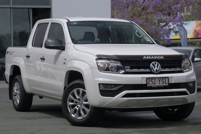 Used Volkswagen Amarok 2H MY19 TDI550 4MOTION Perm Core, 2019 Volkswagen Amarok 2H MY19 TDI550 4MOTION Perm Core White 8 Speed Automatic Utility