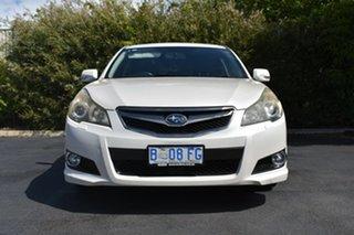 2009 Subaru Liberty B4 MY09 AWD White 4 Speed Sports Automatic Wagon.