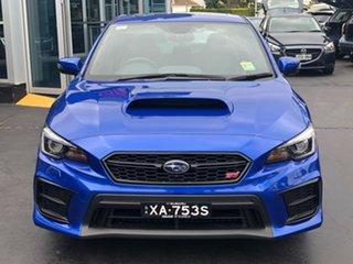 2019 Subaru WRX V1 MY20 STI AWD Premium WR Blue Mica 6 Speed Manual Sedan.