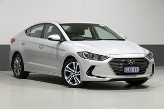2016 Hyundai Elantra MD Series 2 (MD3) Elite Silver 6 Speed Automatic Sedan.