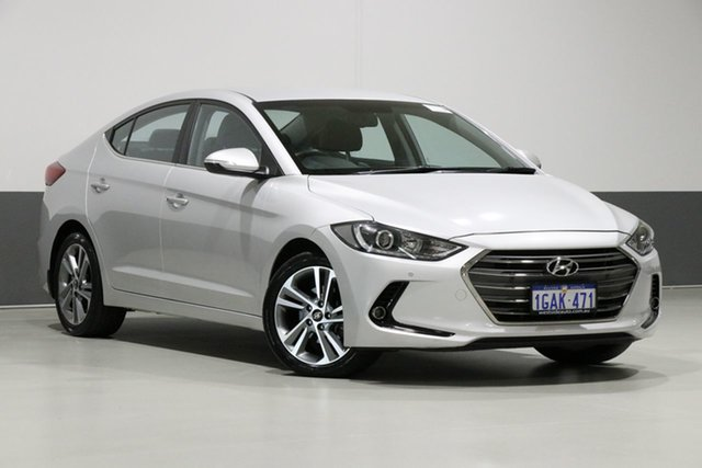 Used Hyundai Elantra MD Series 2 (MD3) Elite, 2016 Hyundai Elantra MD Series 2 (MD3) Elite Silver 6 Speed Automatic Sedan