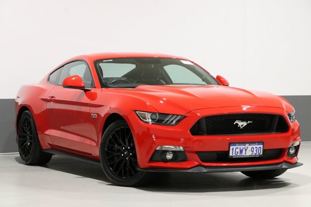 Used Ford Mustang FM MY17 Fastback GT 5.0 V8, 2017 Ford Mustang FM MY17 Fastback GT 5.0 V8 Red 6 Speed Automatic Coupe