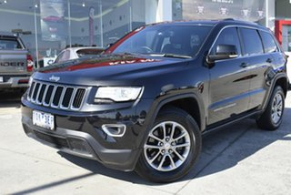2013 Jeep Grand Cherokee WK MY2014 Laredo 4x2 Black 8 Speed Sports Automatic Wagon.
