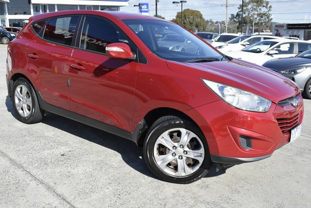 Used Hyundai ix35 LM MY11 Active, 2010 Hyundai ix35 LM MY11 Active Red 6 Speed Sports Automatic Wagon