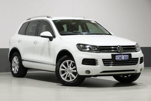 Used Volkswagen Touareg 7P MY14 150 TDI, 2014 Volkswagen Touareg 7P MY14 150 TDI White 8 Speed Automatic Wagon
