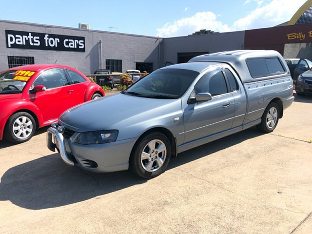 Used Ford Falcon BF Mk II XLS Super Cab, 2007 Ford Falcon BF Mk II XLS Super Cab 4 Speed Sports Automatic Cab Chassis