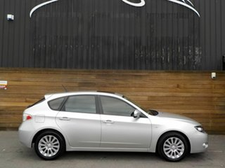 2009 Subaru Impreza G3 MY09 RX AWD Silver 5 Speed Manual Hatchback.