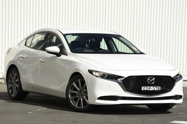 Demo Mazda 3  , 2019 Mazda 3 G20 TOURING White 6 Speed Automatic Sedan
