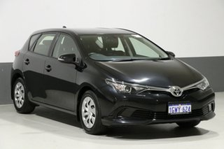 2017 Toyota Corolla ZRE182R MY15 Ascent Black 7 Speed CVT Auto Sequential Hatchback