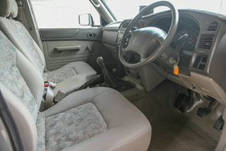 2002 Nissan Patrol GU DX Silver 5 Speed Manual Cab Chassis