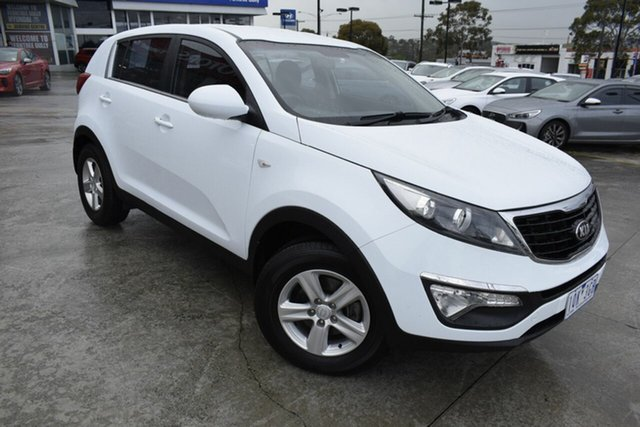 Used Kia Sportage SL MY14 Si 2WD, 2014 Kia Sportage SL MY14 Si 2WD White 6 Speed Manual Wagon