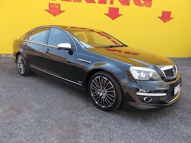 Used Holden Special Vehicles Grange WM Series 3 MY12 , 2011 Holden Special Vehicles Grange WM Series 3 MY12 Black 6 Speed Sports Automatic Sedan