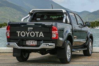 2015 Toyota Hilux KUN26R MY14 SR5 Double Cab Black 5 Speed Manual Utility