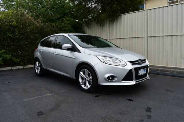 Used Ford Focus LW MkII Trend, 2014 Ford Focus LW MkII Trend Silver 5 Speed Manual Hatchback